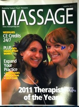 voted san antonios best massage therapist in the 2011 Current Magazine.